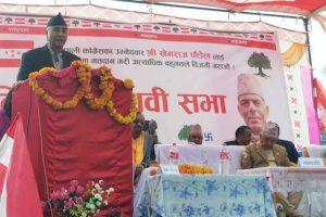 प्रधानमन्त्री ओलीको सहमतिमै कालापानी भारतको नक्सामा : कांग्रेस सभापति देउवा