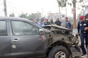 निर्वाचनलाई प्रभावित गर्न पोखरामा बम विष्फोट