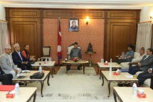 नेकपा सचिवालय बैठकले सिफारिस गर्यो सातै प्रदेशका लागि प्रदेश प्रमुख