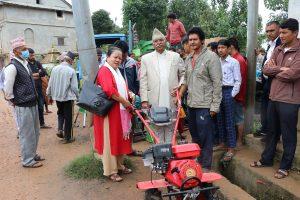 नमोबुद्ध १० का किसानलाई अनुदानमा आधुनिक कृषि यन्त्र